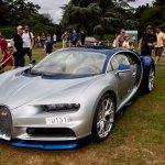 Bugatti Chiron in Prestige and Hypercar display