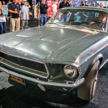 'Bullitt' Mustang GT movie car to be auctioned by Mecum at Florida sale