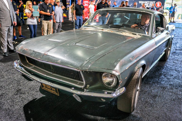 Bullitt Mustang Gt Movie Car To Be Auctioned By Mecum At