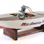 CA19_Dick Barbour Tether Car Collection_1940 Miss America VI Tether Boat_KK0092
