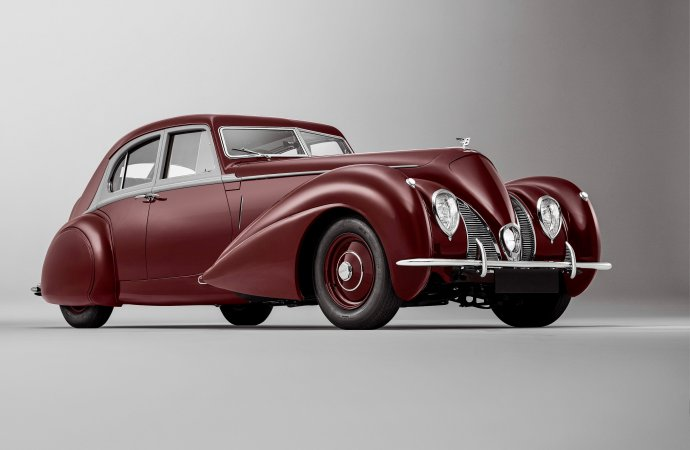 A lost Bentley is masterfully re-created