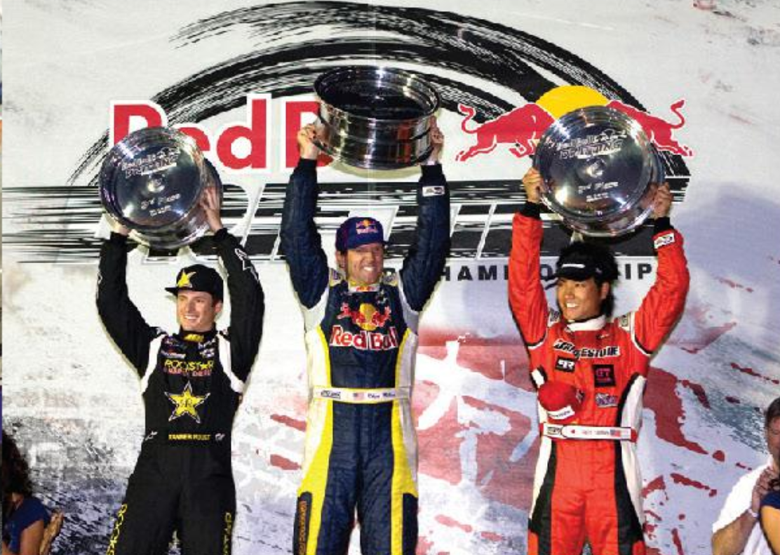 Formula Drift podium finishers 2008 | Formula Drift photo