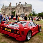 Ferrari F40 in Prestige and Hypercar display