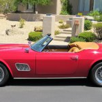 Ferris Bueller faux Ferrari IMG_5997