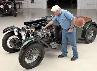 1934 Frazer Nash TT rekindles British memories for Jay Leno