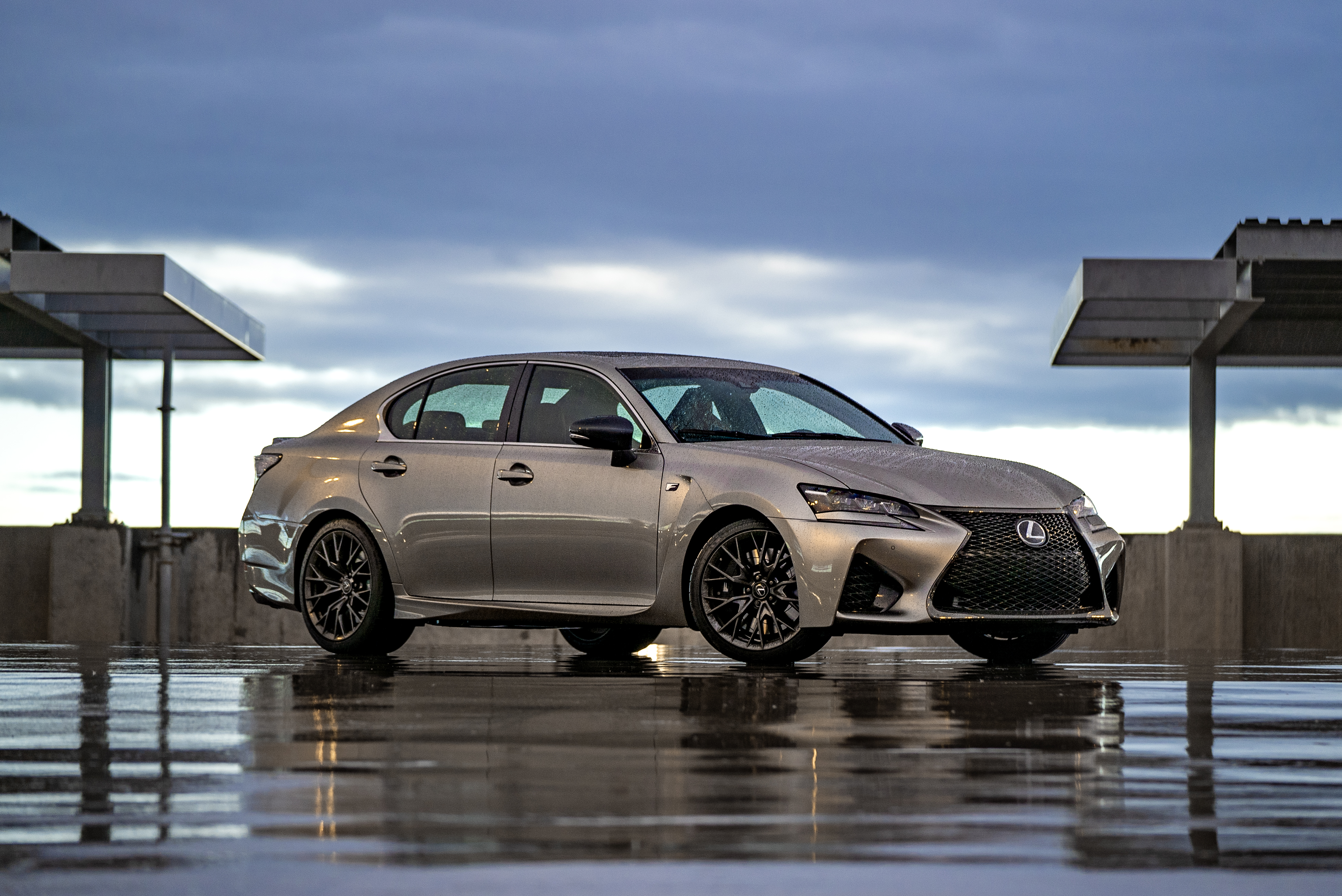 Lexus GS F features the same 5.0-liter V8 as the RC F coupe