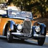 Concours cars hit the road for Pebble Beach Tour d'Elegance