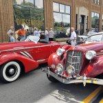 Hoosier_Tour_Red_car Decalb County Visitors Bureau