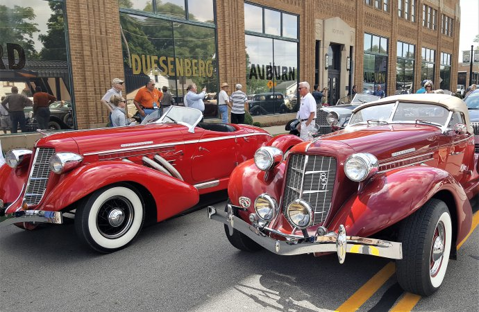 Auburn Cord Duesenberg Festival launched in hometown of Auburn