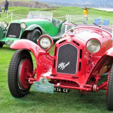 Belle macchine: Zagato designs thrill at Pebble Beach Concours d'Elegance