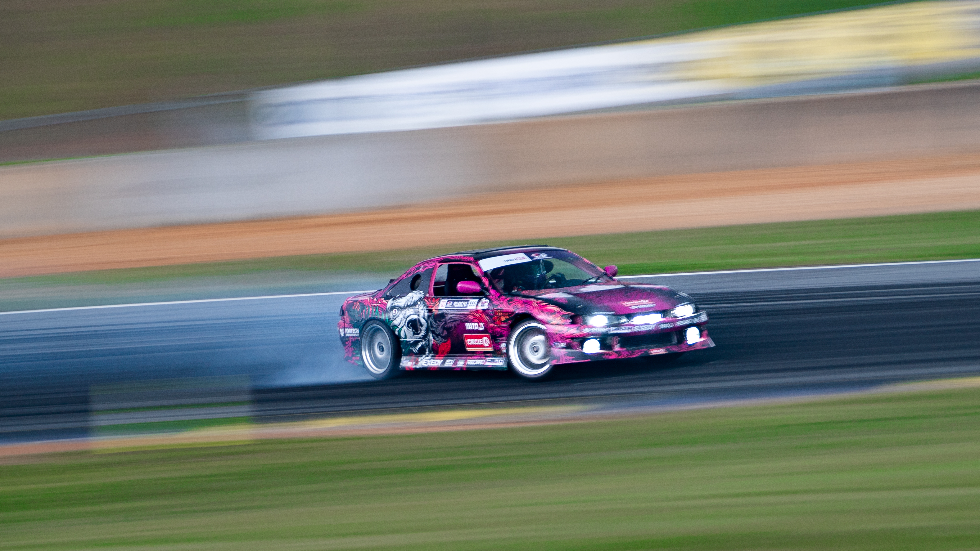Karolina Pilarczyk competing at Formula Drift Pro2 in Atlanta | Rebecca Nguyen photo