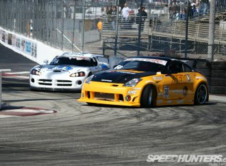 Drift drivers come from a variety of motorsports backgrounds