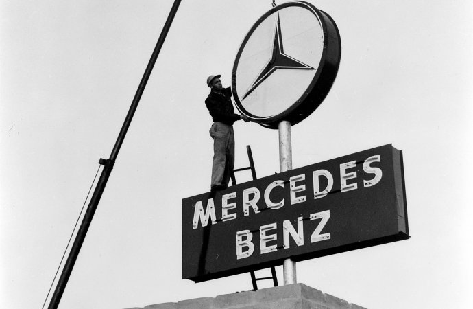 Why is a 3-pointed star the Mercedes emblem?