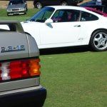 Mercedes and porsche