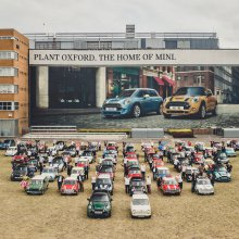 Mini celebrates 60 years and 10 millionth vehicle