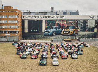 Mini celebrates 60 years and 10 millionth vehicle