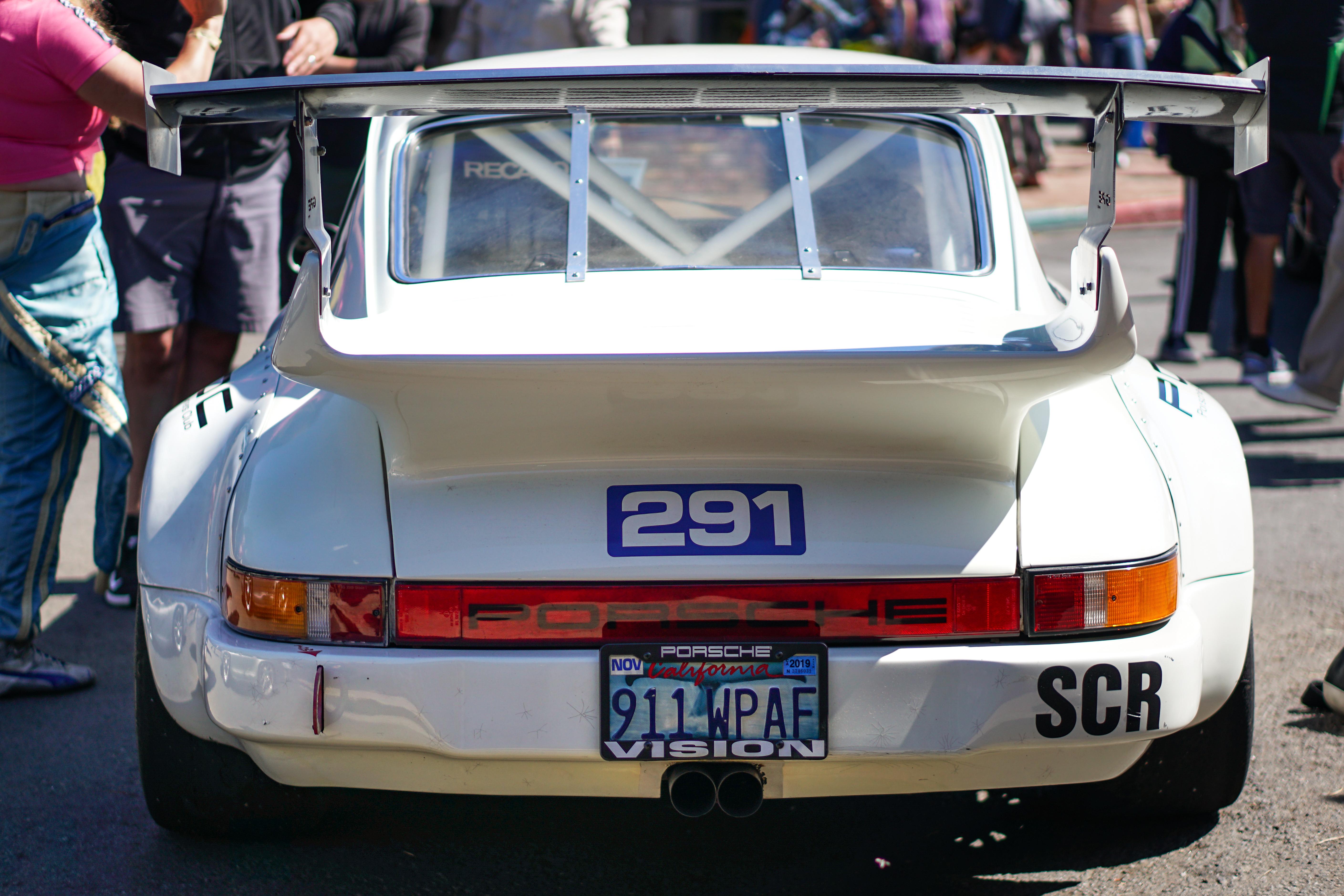 Race prepped Porsche | Rebecca Nguyen photos