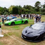Prestige and Hypercar display at Beaulieu Supercar Weekend