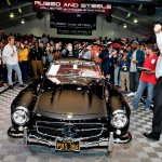 Russo-55 Mercedes-Benz 300SL Gullwing Coupe-Sold $1.1million-Howard Koby photo #8922A