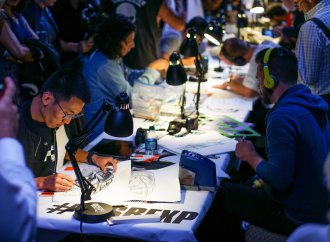 Fight club of design, Sketchbattle hits Pebble Beach