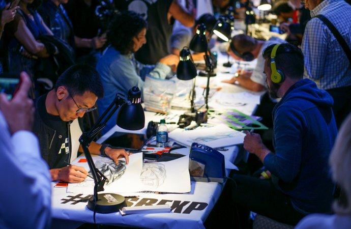 Fight club of design, Sketchbattle hits Pebble Beach