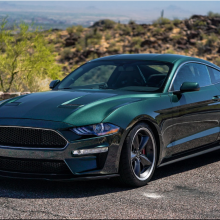 It's the modern Bullitt Mustang Steve McQueen would have wanted