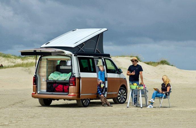 VW rolls out new California 6.1 camper van