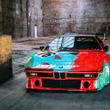 Four decades later, BMW M1 art car by Andy Warhol still awes