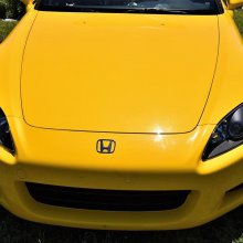 High-revving fun: 2002 Honda S2000 sports car