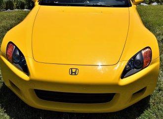 High-revving fun: 2002 Honda S2000 sports car