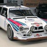 lancia rally car leno
