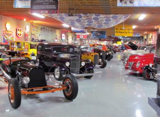 Nostalgia extends well beyond street rods at this museum