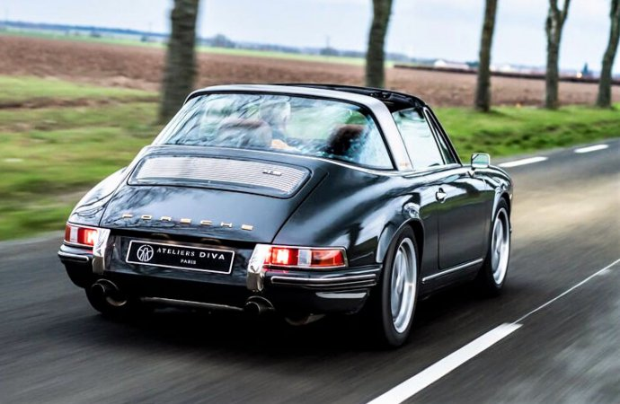 French firm rebuilding classic Porsches with modern twist