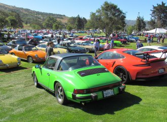 There's no generation gap when it comes to Porsche appreciation