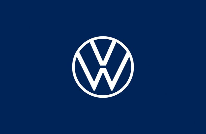 VW introduces new two-dimensional logo