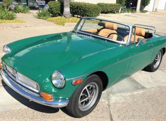 Underrated, affordable '73 MGB roadster