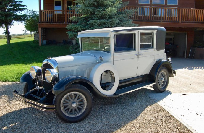 This car's not too old, but the seller may be