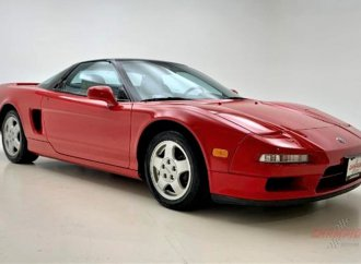Millennial favorite 1991 Acura NSX coupe