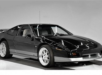 GM's original mid-engine sports car, the much-improved, V6-powered Fiero GT