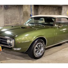 Stylish performer, 1968 Pontiac Firebird 400 convertible