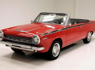 Aluminum slant-6 and 'Fratzogs' make Dodge Dart convertible an unusual find