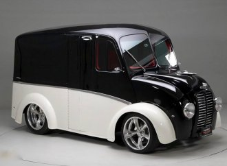 Speedy deliveries: This custom van really delivers