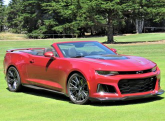 Most-powerful Camaro yet, the ZL1 rumbles with 650 horsepower