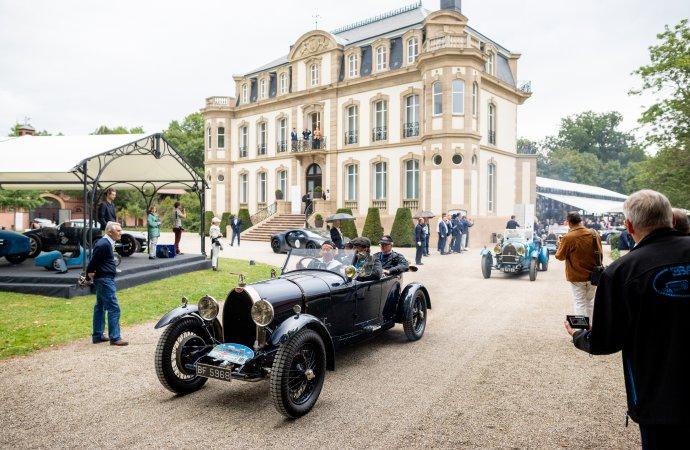 Bugatti stages 'Grande Fête' in Molsheim for 110th birthday