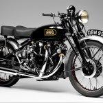 1949 Vincent Rapide Series C Black Shadow – Roy Huxley