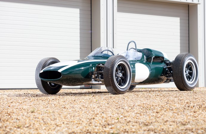 Ex-Brabham F1 racer going to auction for Stewart's dementia charity