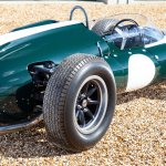 1961 Cooper Climax 1.5-2.5-liter T55 rear 3:4