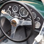 1961 Cooper Climax 1.5-2.5-liter T55 steering wheel