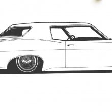 1968 Chevy Impala lowrider set for SEMA unveiling