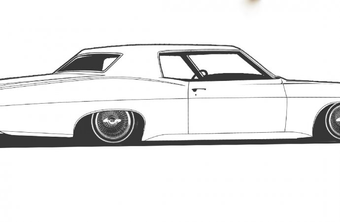 1968 Chevy Impala lowrider set for SEMA unveiling
